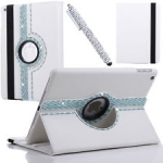 IPad 5/Air 360 Rotating Diamond Leather Cover