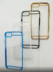 Iphone 6G Clear With Side Reflection Case