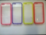 Iphone 4/4s, Clear Colour Back Case
