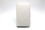 HTC Desire-Z Flip Leather Book Type White