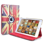 IPad 5 Air 360 Rotating Union Jack Case