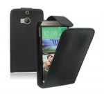 HTC M8 Flip leather
