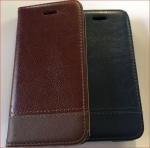 Galaxy Note 8 Wallet Stiches Leather Case