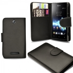 Xperia E1 Wallet Leather Case