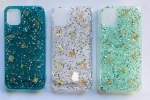 IPhone 7/8G Shiny Glittery Glassy Back Case