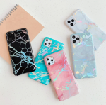 IPhone 12 Pro Max Corner TPU Marble Design Case