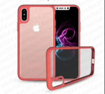 IPhone X Clear Gel Back Case