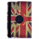 IPad Mini/2/3 360 Rotating Union Jack Case