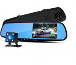 Dual Lens DashCam Vehicle Front & Rear Car Camera HD 1080P Video Recorder