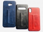 Galaxy A20/30 Back Leather Case