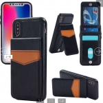 IPhone X/XS Back Leather Wallet Case