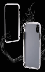 IPhone X/XS Metal Magnetic Front & Back Glass Case