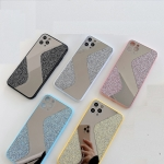 IPhone 12/12 Pro (6.1 Inch) Glittery Mirror S Shape Back Case